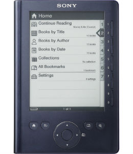 Sony e-reader PRS300 oplader