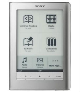 Sony e-reader PRS600 oplader